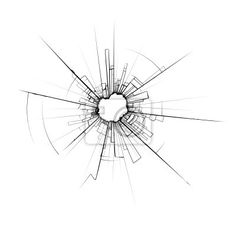 broken glass drawing - Google Search