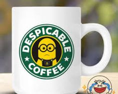 Starbucks turn into despicable with the minions