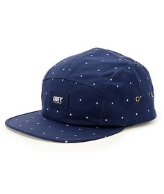 701c53f1d18 Obey Franklin 5 Panel Hat