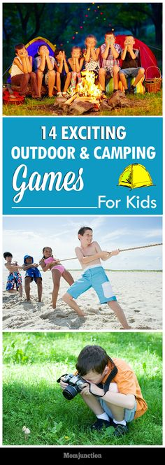 14 Exciting Outdoor And Camping Games For Kids