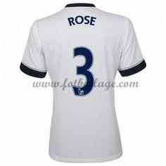 Fotbollströjor Tottenham Hotspurs 2016-17 Rose 3 Hemmatröja