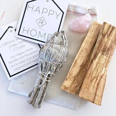 Happy Home ~ sage bundles ~ clear the old energy ~ invite in the new energy Nashville Kids, Smudge Sticks, Healthy Choices, Smudging, Sage, Invite, Hair Accessories, Place Card Holders, Crystals