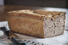 Pan de trigo sarraceno Tostadas, Pan Sin Gluten, Pan Bread, Low Fodmap, Gluten Free Recipes, Banana Bread, Veggies, Cooking, Ethnic Recipes