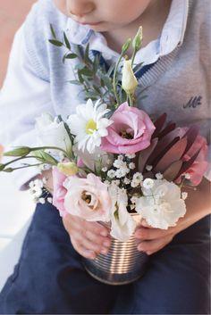 ADORO: Flores campestres em latas e frascos // Wild Flowers in tin cans and jars
