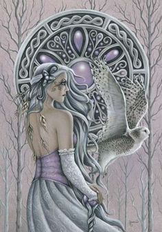 Arianrhod was one of the major Celtic Goddesses, known often as the goddess of the silver wheel. Worshipped as a goddess of feminine power, fertility, and the moon, Arianrhod played a very important part in Celtic mythology…  www.reocities.com/ariannon/arian.html