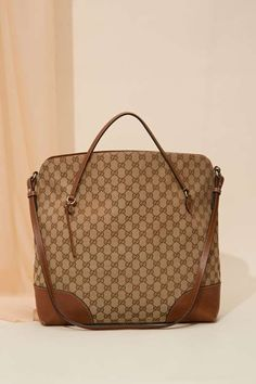 Vintage Gucci Bree Leather Tote Bag