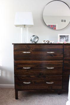 A Simple Kind of Life: Tarva Dresser Hack & a Master Bedroom Sneak Peek