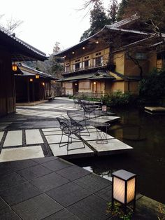 Hoshinoya, Kyoto, Japan - one of the most beautiful hotels I've ever stayed in.: