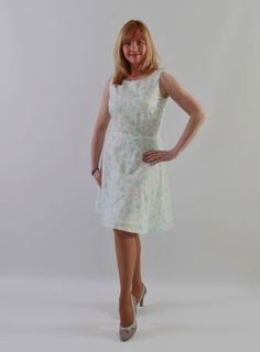 Sweet feminine dress jewel neckline back by JSOTsHumanHeritage
