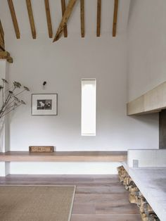 Park Corner barn, Oxfordshire, McLaren Excell, conversion, simplicity, minimum, minimalism, materiality