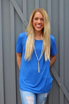 Piko classic t-shirt royal blue