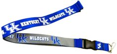 Amazon.com : NCAA Kentucky Wildcats Reversible Lanyard : Sports Related Key Chains : Sports & Outdoors