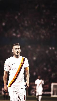 iPhone wall paper. Sport Football, Soccer, Totti Roma, As Roma, Living Legends, Hipster, Iphone, Celebrities, Style