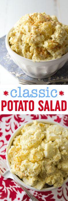 Classic Potato Salad Recipe | Easy Potato Salad | Potato Salad with Egg Recipe | Best Potato Salad