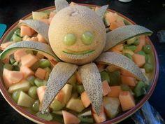 Octopus's garden fruit salad