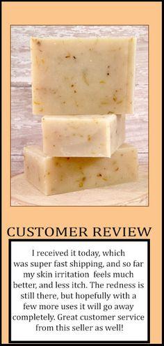 CALENDULA SOAP.  Great for eczema https://www.etsy.com/listing/258827984