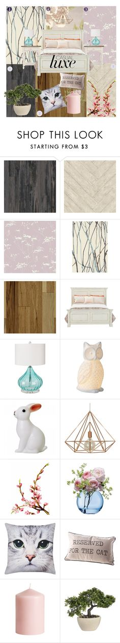 """""""Casual Luxe Bedroom"""" by sec71290 ❤ liked on Polyvore featuring interior, interiors, interior design, home, home decor, interior decorating, Andrew Martin, Brink & Campman, Surya and DK"""