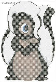 Disney Skunk | cross-stitch patterns, Flower the Skunk, skunk, animal, Bambi, Disney ...