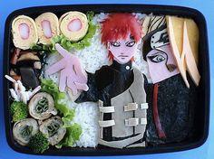 Naruto Charater Bento