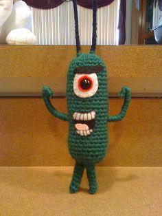 Plankton from Spongebob
