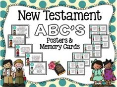 New Testament ABC's Wall Posters and Memory Cards