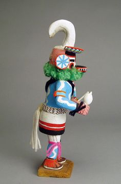 Hopi Pong Kachina Doll (Side)
