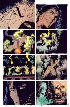 Ronin v1 #4 dc comic book page art by Frank Miller