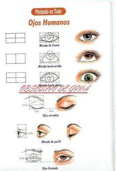 ARTE COM QUIANE - Paps, Moldes, E.V.A, Feltro e Costuras: Passo a passo como desenhar olhos de bonecas,olhos de animais e olhos humanos