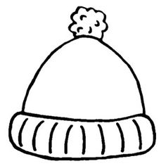 Winter Boots Large Coloring Page | Dressing for Winter ...