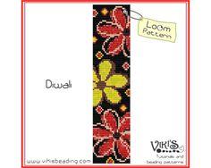 Loom Bracelet Pattern: Diwali - for bracelet - INSTANT DOWNLOAD pdf - Multibuy savings with coupon codes - bl221