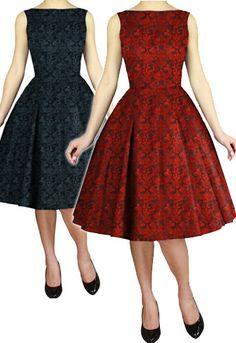 Jacquard Swing Dress by Amber Middaugh