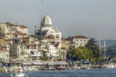 Blick auf Sibenik/Kroatien