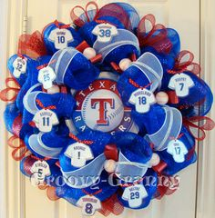 texas ranger wreath