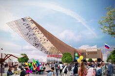 Milan Expo 2015: Russia to Exhibit Expansive Timber               Pavilion ~~~Rus 大鵰~