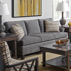 "Kincaid Furniture Studio Select Customizable 80"" Sofa at Belfort Furniture"