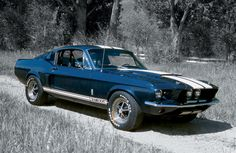 """1967 Shelby Mustang GT500"" - classic American muscle ~;^]>"