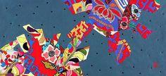 골무 (한복천. 염색.손바느질ᆞ꼴라쥬) Thimble ( hanbok cloth , dyed , hand-stitched . Collages )