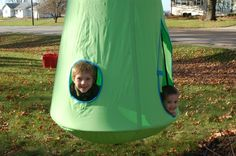 Coolest outdoor swinging pod for #kids