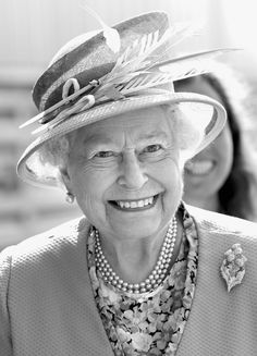 Confirmed: The British Royal Family Looks Even More Regal in Black and White