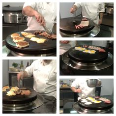 Breakfast on the Evo Circular Cooktop