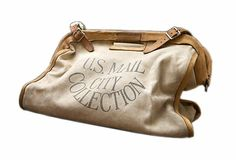 vintage us postal service satchel. i need this bag.
