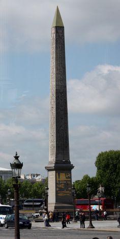 3,300 year old Obelisk of Luxor, Place du Concorde
