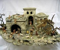 Seite 62 - fodn_nr58_final.indd Portal, Diorama, Nativity, Christmas Decorations, Scene, Painting, Origami, Ideas, Christmas Manger