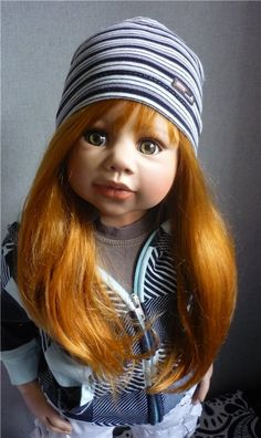 Рыжеволосая Sandy от Monika Levenig / Коллекционные куклы (винил) / Шопик. Продать купить куклу / Бэйбики. Куклы фото. Одежда для кукол