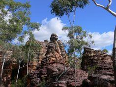 Felsformation im Caranbirini Conservation Reserve (Northern Territory)