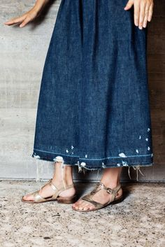 'Rachel Comey, The New Kid on Crosby Street'. Jean Stories' interview with Rachel on her use of denim.