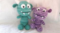 Vote for Monsterbaby Sven and his little friend Milan by JKL - http://www.amigurumipatterns.net/designcontest/vote/?id=1091 - Two little adventurer friends full of energy and noughtyness. Always on the lookout for trouble.