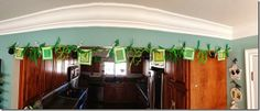 St. Patrick's Day Banner or garland.