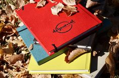 Beautiful A5 and B5 dotted journals.