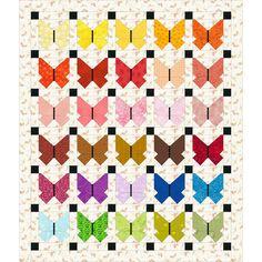 "Free ""If you love Butterfly"" quilt idea, design by Dorte Rasmussen Denmark"